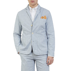 Eastvale 3 Button Blazer - Blue