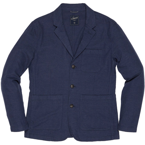 The Poindexter 3 Button Sportcoat - Navy Heather-Grayers