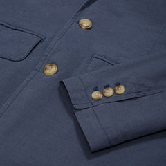 Randolph Stretch 3-Button Blazer - Mood Indigo