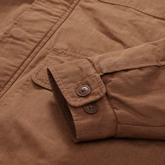 Canvas Field Coat - Saddle