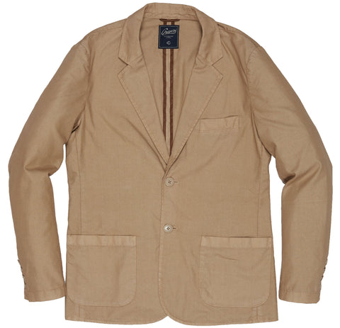 Newport  Stretch 3-Button Blazer - Dusty Olive