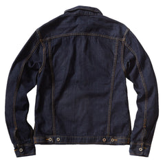 Denton Japanese Selvedge Trucker Jacket - Indigo/Vintage Wash