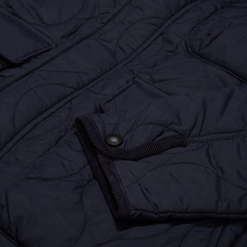 Reston Quilted Jacket - Navy-Grayers