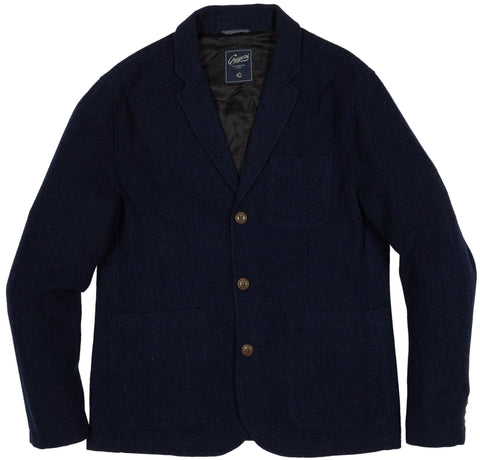 Hutton Wool Twill Sport Coat - Navy-Grayers