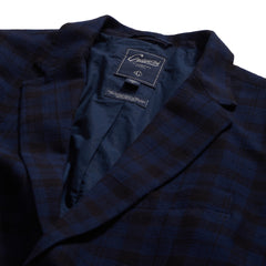 Stuart Blazer - Black Navy Plaid