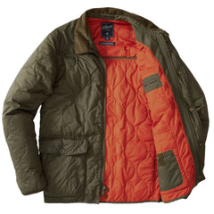Andrew Light Weight Quilted Jacket - Olive