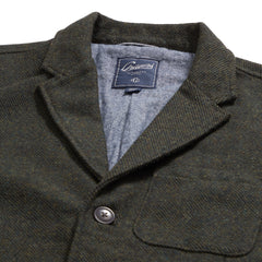 Hutton Wool Fully Lined Sport Coat - Loden
