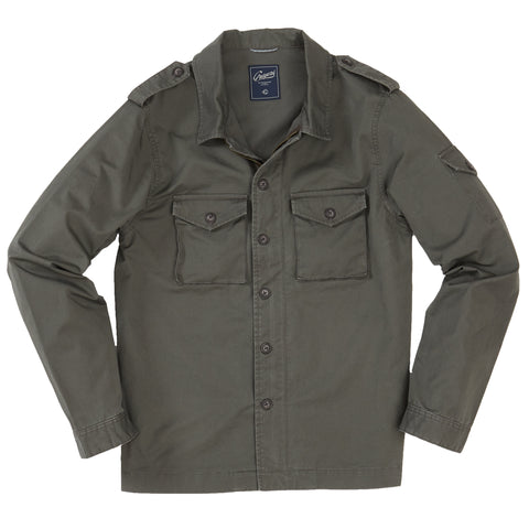 East End Double Cloth Knit Shirt - Forged Iron