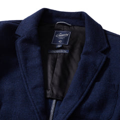 Hutton Wool Twill Sport Coat - Blue Night