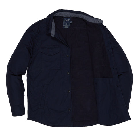 Hillside Lined Shirt Jacket - Navy-Grayers