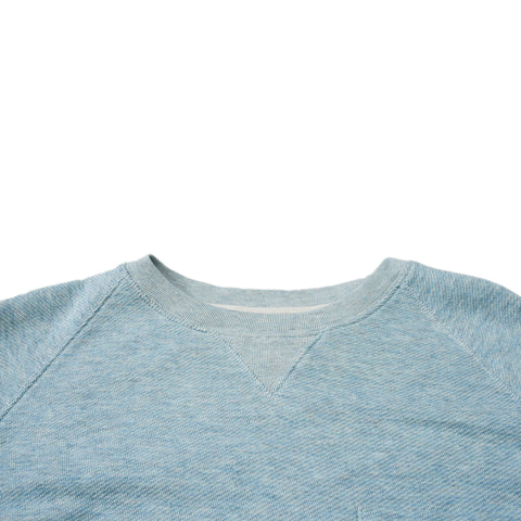 Montague Crew Neck Sweatshirt - Seafoam Heather