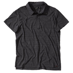 Hartford Nep Jersey Polo - Charcoal