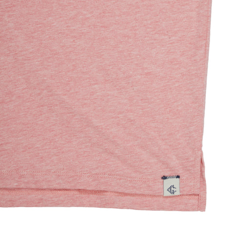 Hartford Nep Jersey Polo - Pink-Grayers