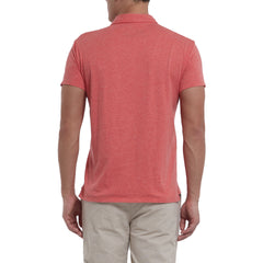 Hartford Nep Jersey Polo - Mineral Red-Grayers