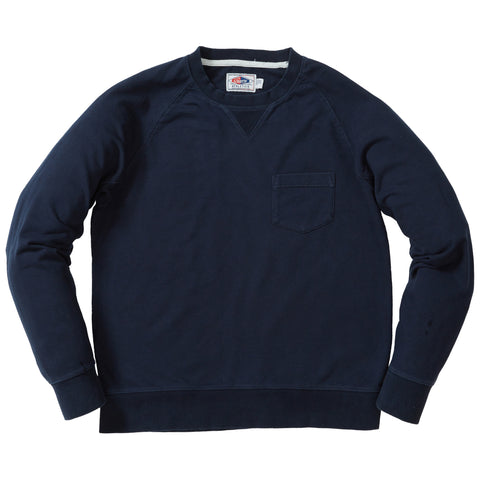 Momo Light Weight Terry Crew - Navy