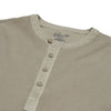 Campesina Double Cloth Thermal Henley - Mocha-Grayers