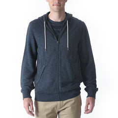 Montague Zip Hoodie - Navy Heather-Grayers
