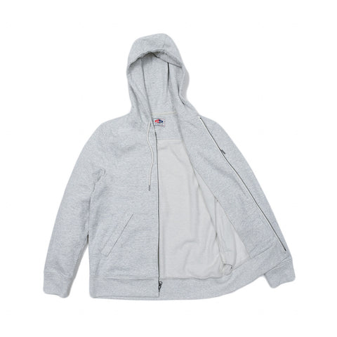 Athletic Hoodie Brushed French Terry - Light Oatmeal Heather