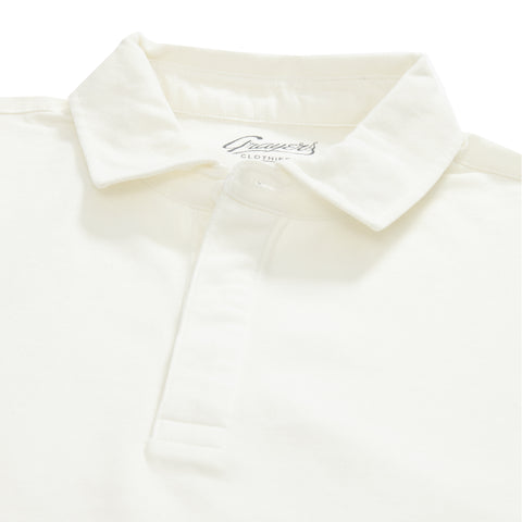 Rutger 3-Ply Lux  Pique Polo - Eggshell