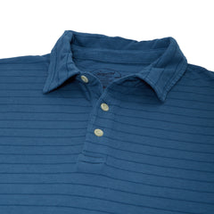 Catalina Stripe Polo - Real Teal-Grayers
