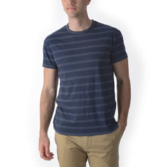 Hastings Stripe Tee - Mood Indigo-Grayers