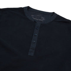 Campesina Double Cloth Thermal Henley - Vulcan Navy-Grayers