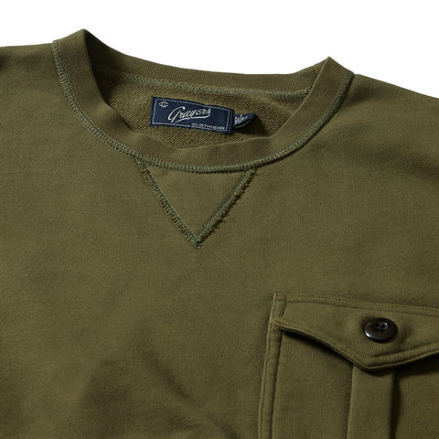 Conner Military Crew - Olive
