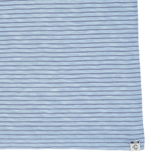 Malaga Cove Stripe Tee - Forever Blue-Grayers