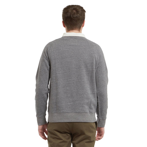 Palmer Athletic Fleece Crew - Charcoal Marl