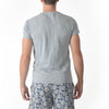Feeder Stripe Crew - Gray Heather / Blue Shadow