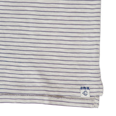 Malaga Cove Stripe Polo - Faded Gray-Grayers