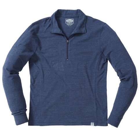 New Windsor Double Cloth Henley - Oatmeal Heather