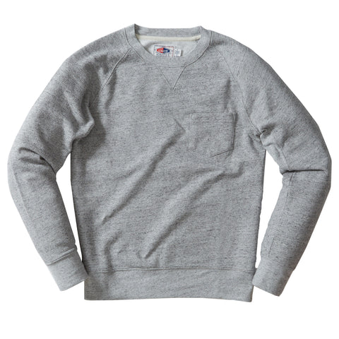 Palmer Athletic Fleece Crew - Gray Marl-Grayers