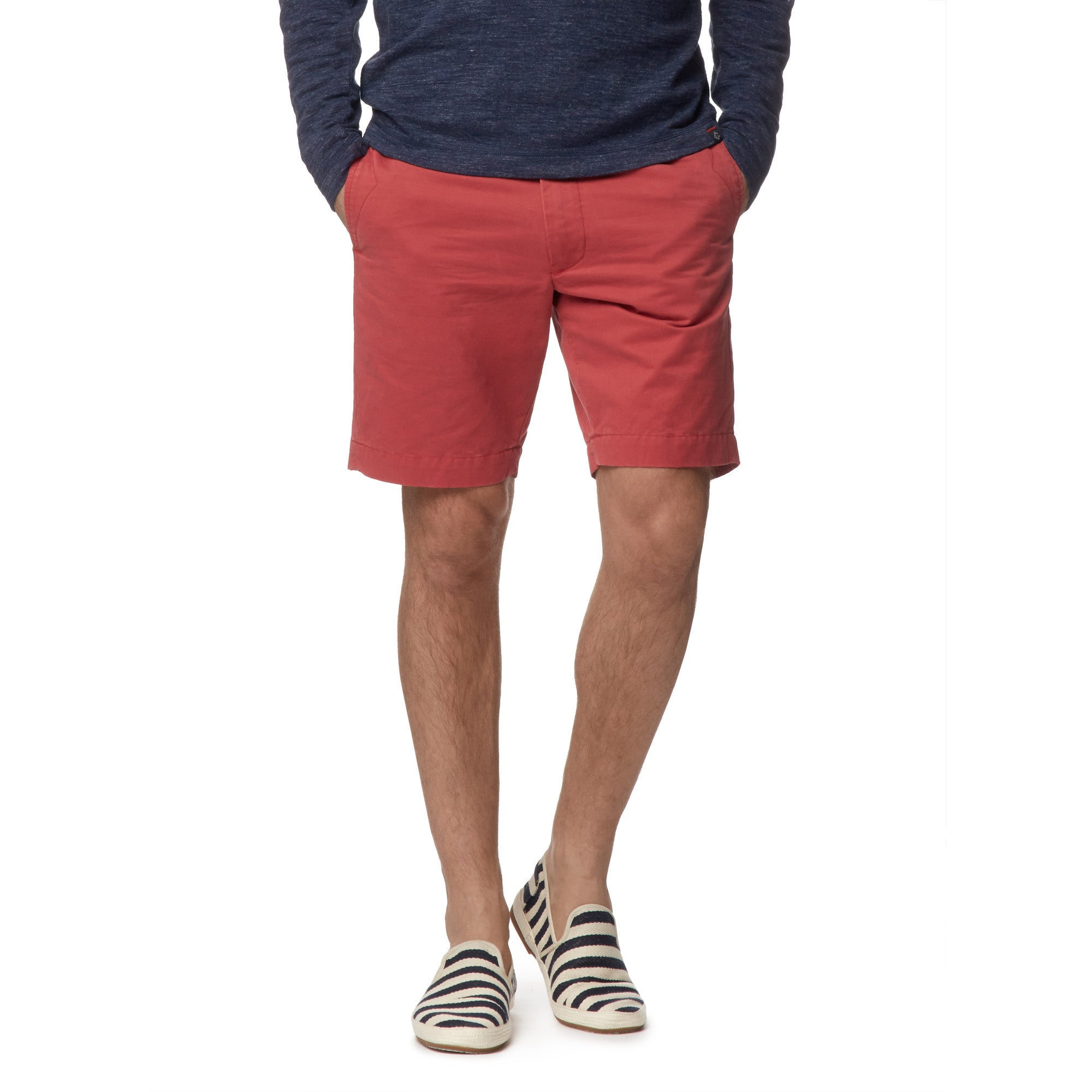 "9"" Newport Club Short - Poppy Red"