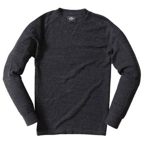 New Windsor Double Cloth Crew - Charcoal