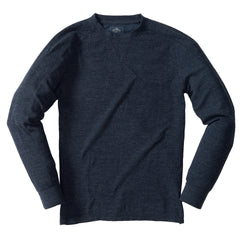 New Windsor Double Cloth Crew - Navy Heather