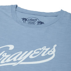 Grayers Print Tee - Ashley Blue-Grayers