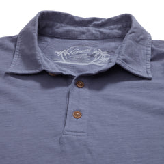 South Bay Slub Jersey Polo - Grisaille