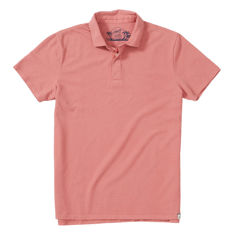 Rutger Pique Polo - Canyon Rose
