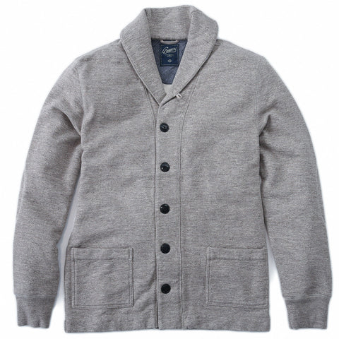 Birch Shawl Cardigan - Heather Oatmeal