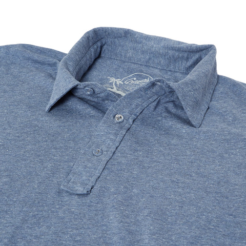 Hartford Nep Jersey Polo - Insignia Blue