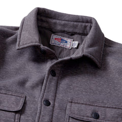Nolan Marled CPO Shirt Jacket - Dark Gull Gray