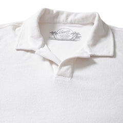 Riviera Terry Polo - White