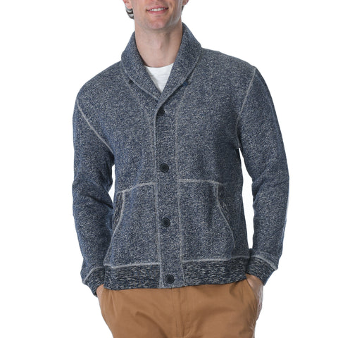 Avalon Shawl Cardigan - Navy Marl-Grayers