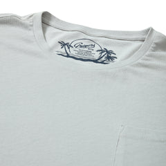 Acme High Twist Tee - Gray Violet