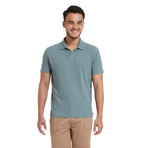 Acme High Twist Polo - Stormy Sea