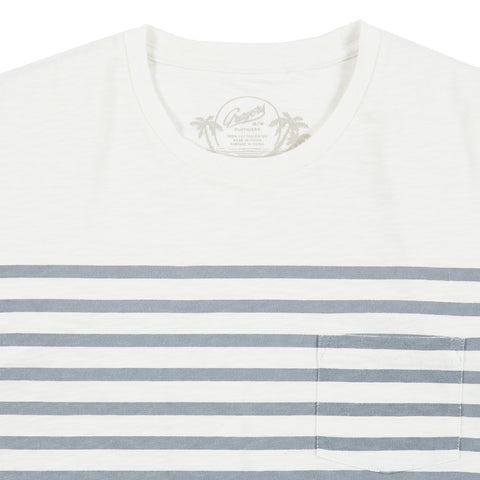 Admiral Stripe Crew - Bright White