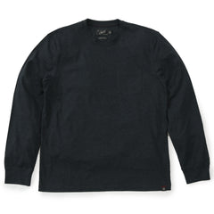 Drake Long Sleeve Pocket Tee - Jet Set-Grayers