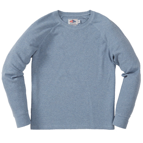 Fairmile Athletic Thermal Crew - Light Blue