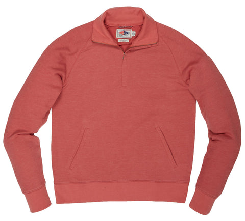 Hudson Textured Half Zip - Dusty Cedar-Grayers